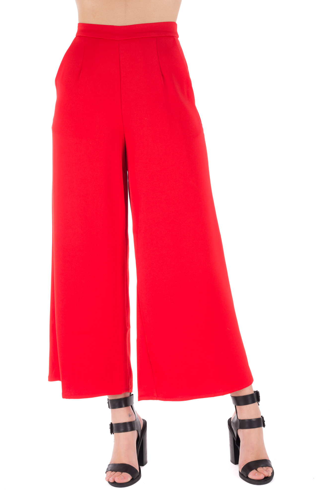 Glamorous - Red Palazzo Trousers