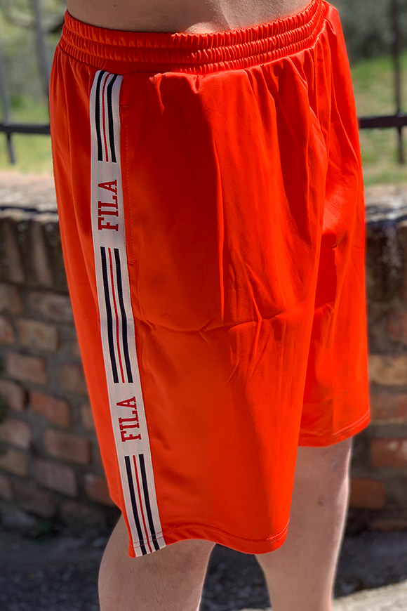 Fila - Orange Short Shorts