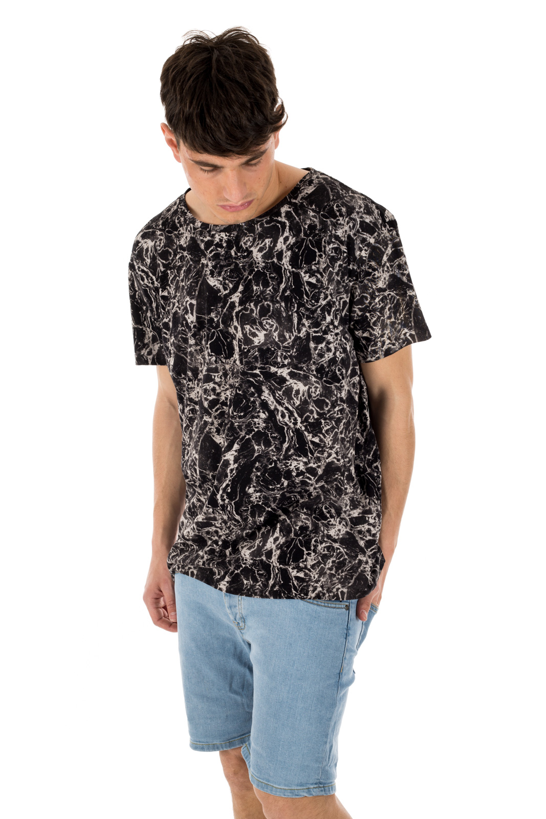 Dr. Denim - Russ T-shirt black oil