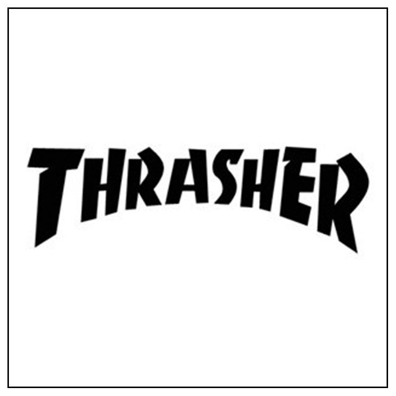 Logo e link alla marca Thrasher