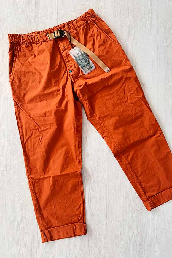 White Sand - Light rust trousers