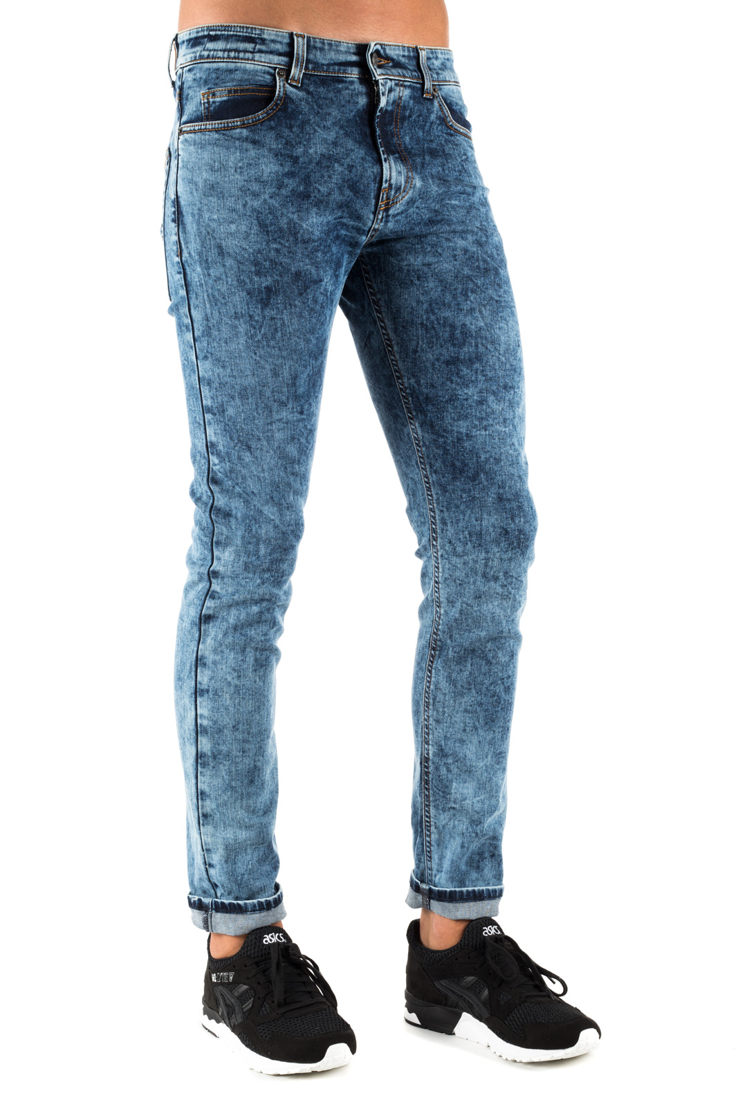 Paura - Javier Washed Skinny Jeans