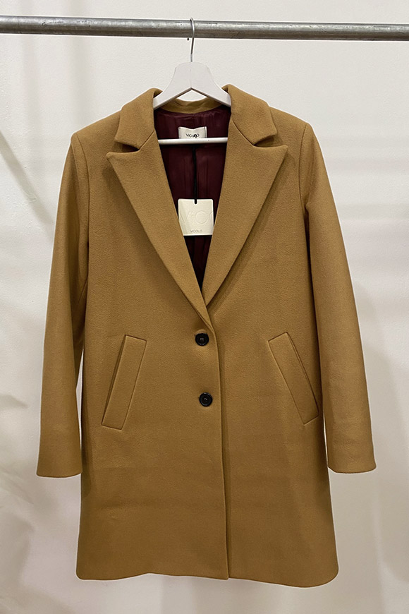 Vicolo - Structured camel coat