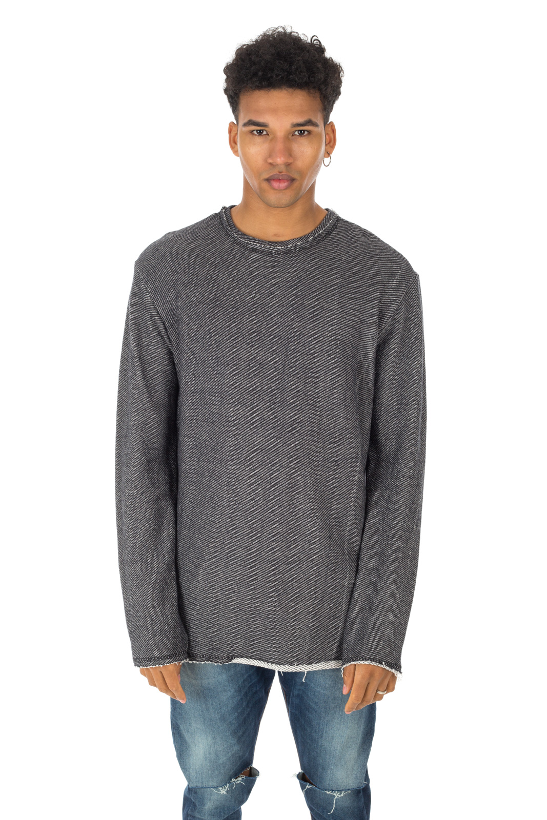 Dr. Denim - Ralf sweater with live cut