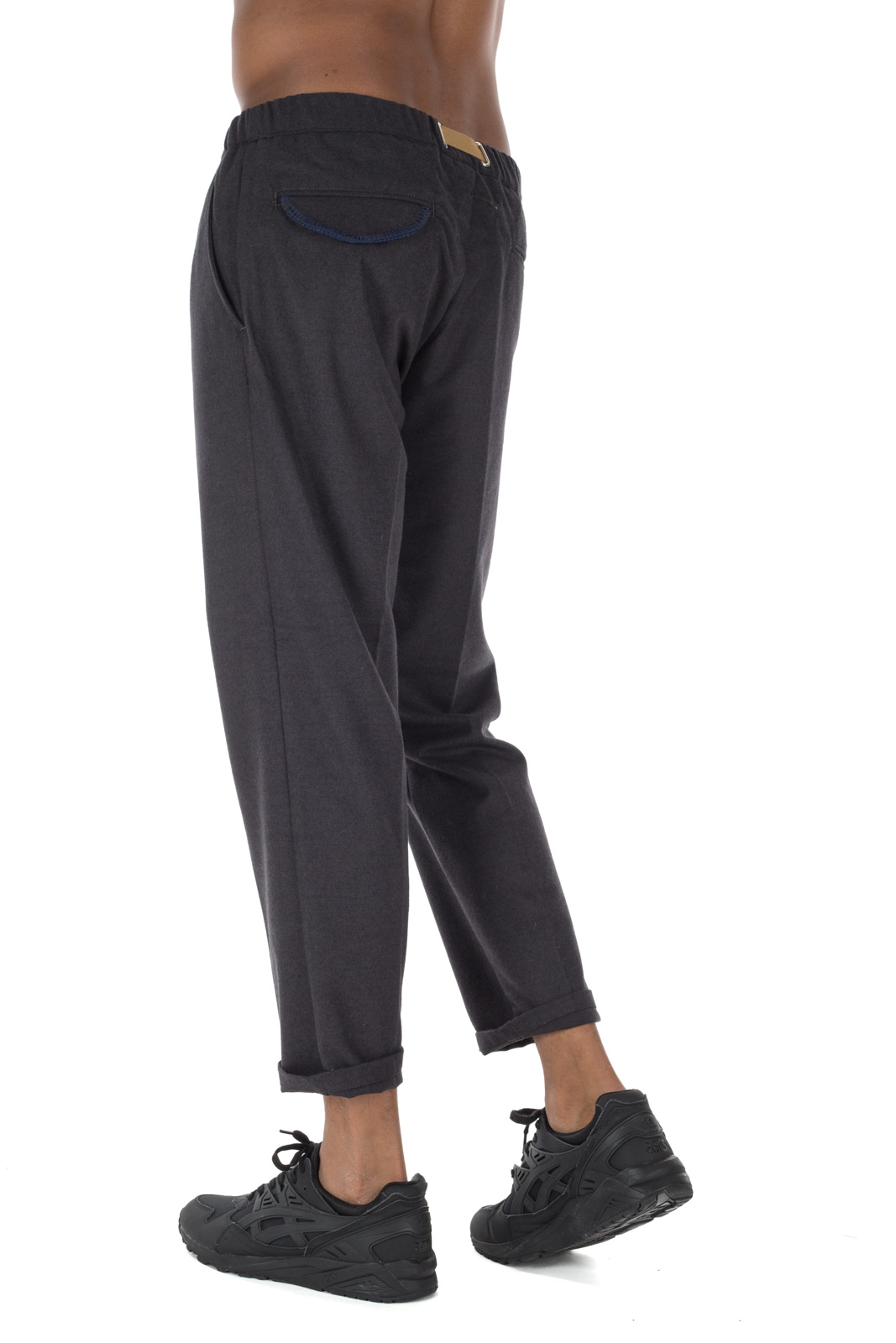 White Sand - Chino Dark Gray Trousers