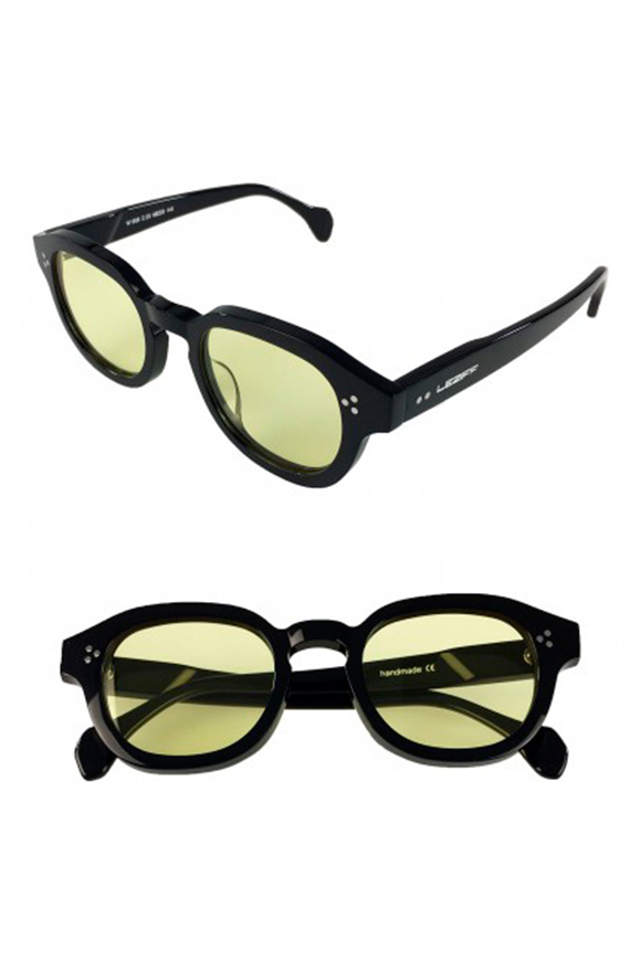 Leziff - Moscow Yellow Black Glasses