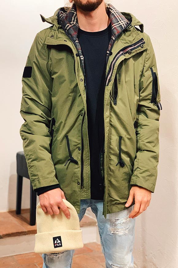 Gianni Lupo - Stone Island waterproof green jacket