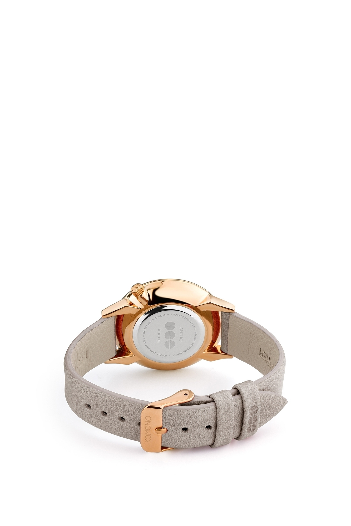 Komono - Watch Estelle mirror gold grey