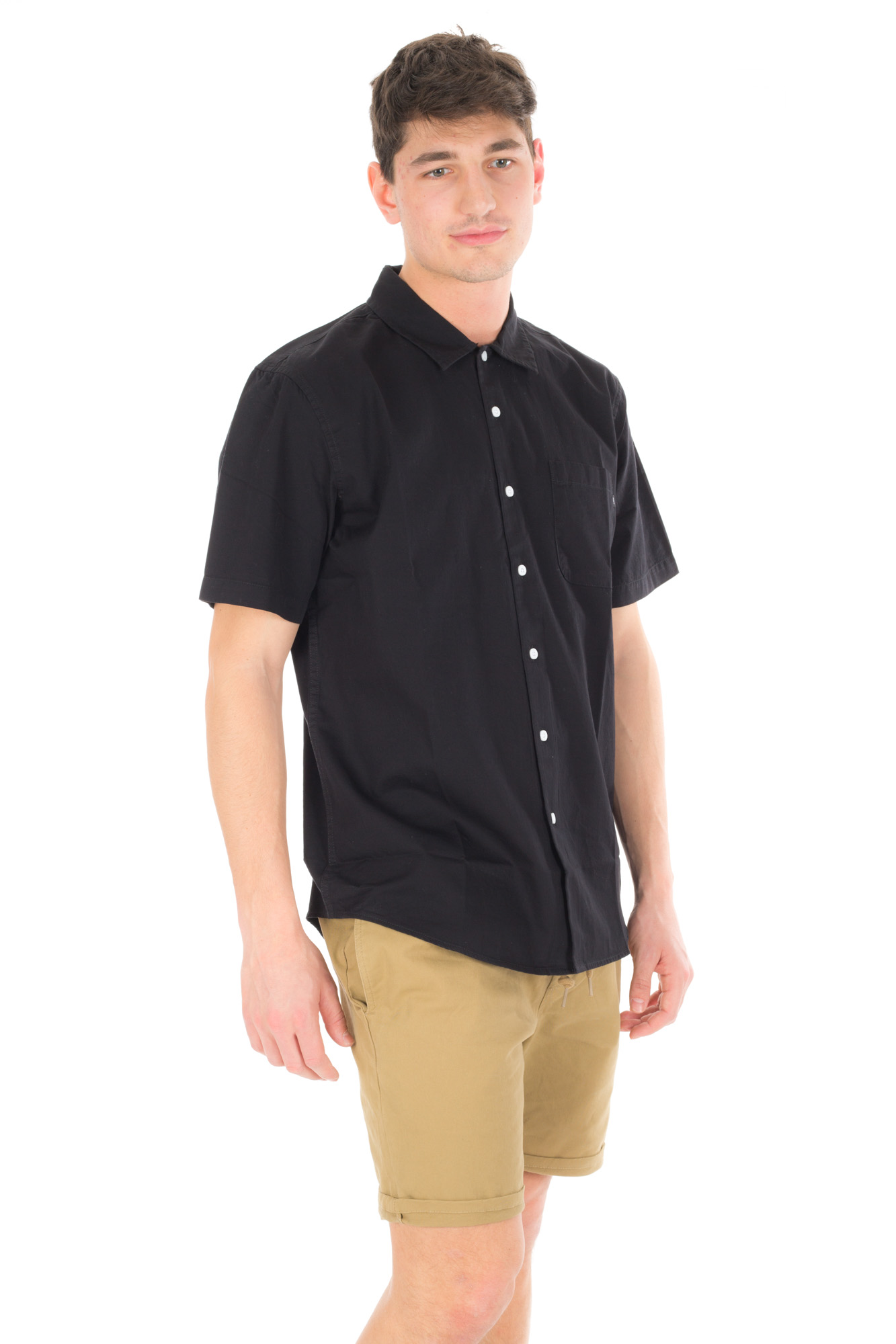Obey - Black Shirt with embroidery