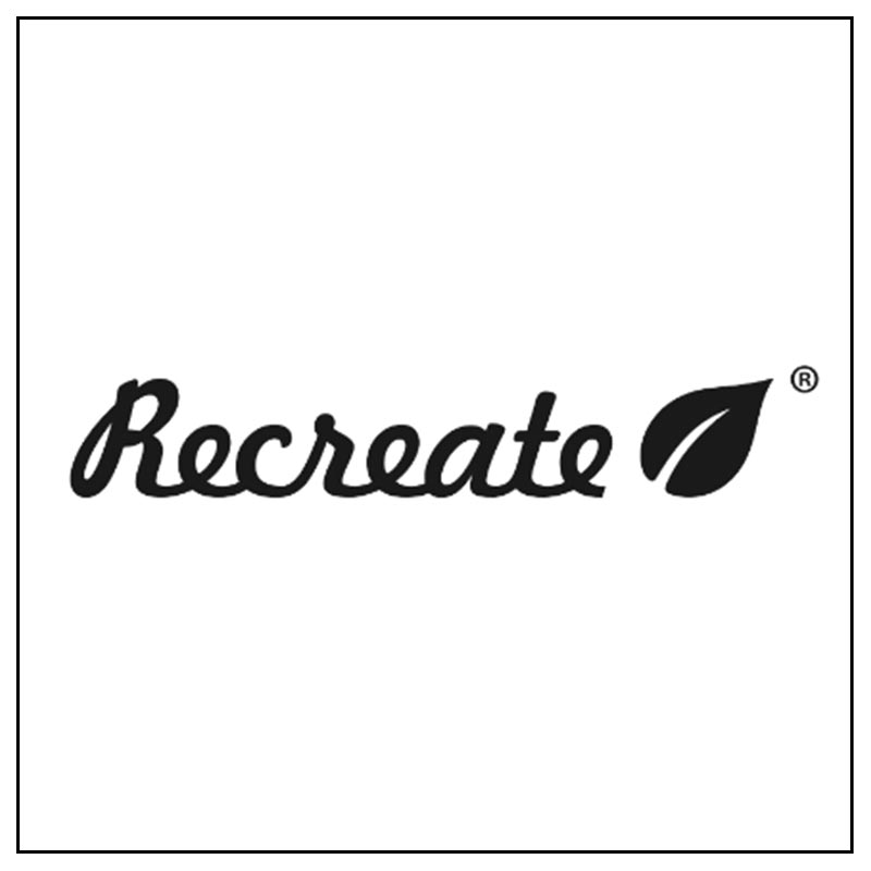 Logo e link alla marca Recreate