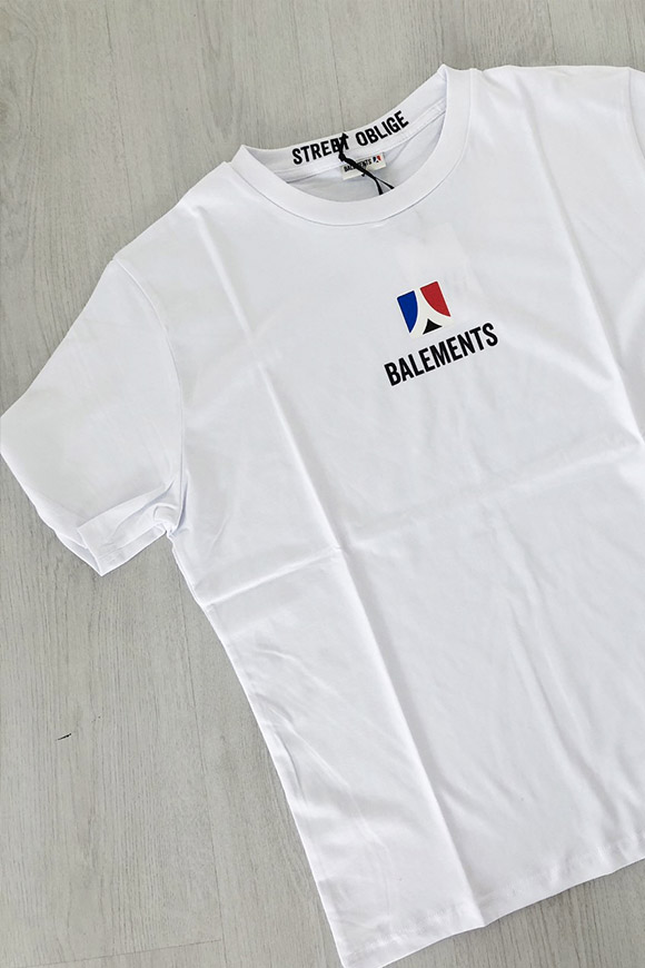 Balements - Unisex white t shirt logo
