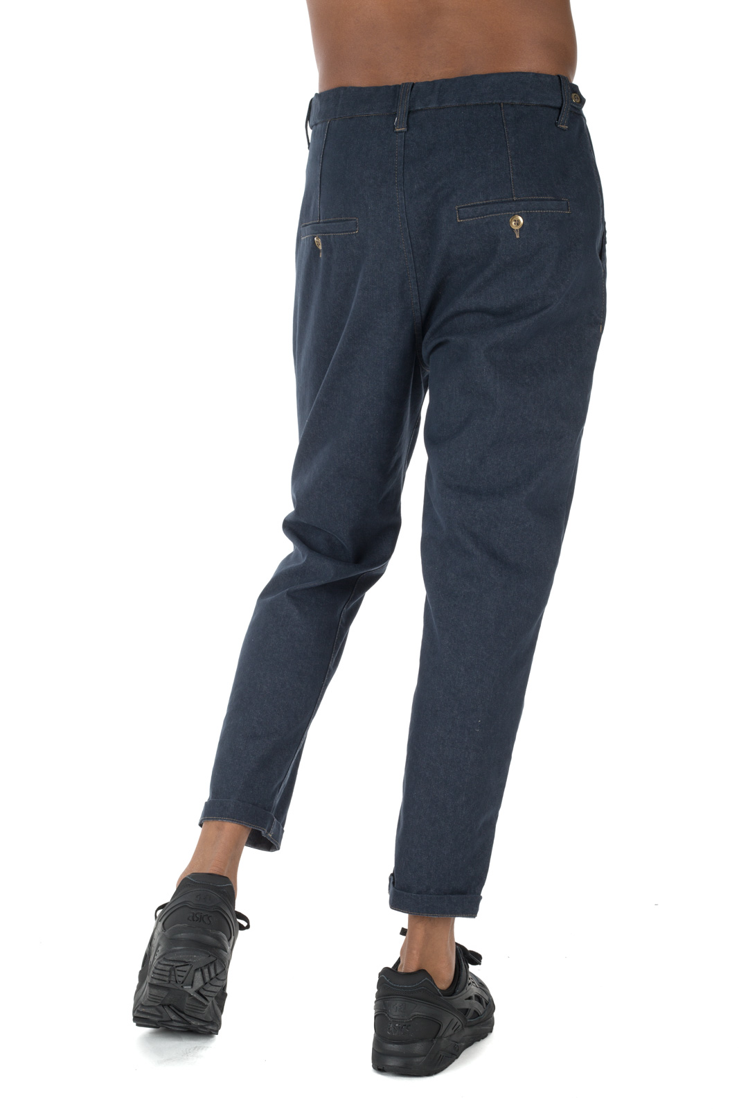 Berna - Jeans with contrasting laces