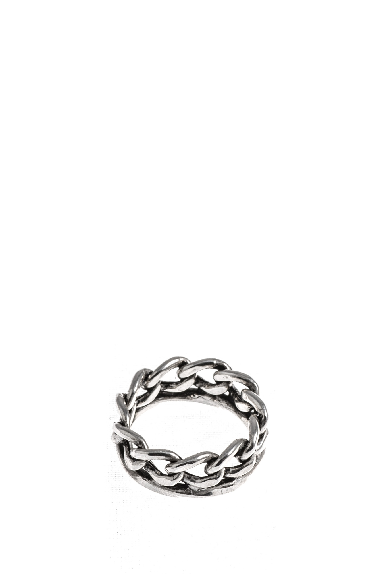 Giacomo Burroni - Silver Ring with Chain