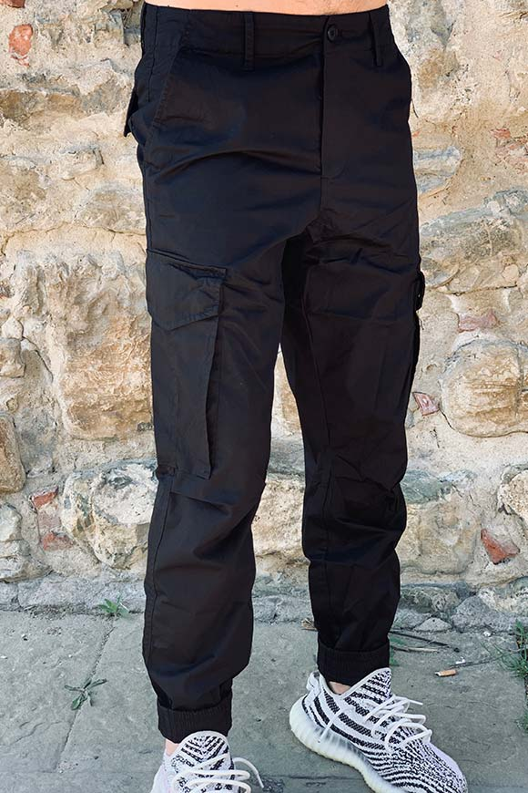Gianni Lupo - Black trousers with pockets