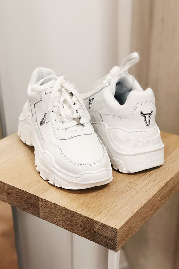 Windsor Smith - Sneakers White leather cards
