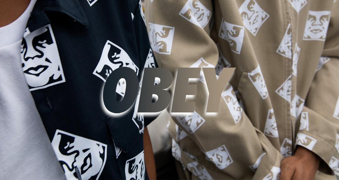 OBEY Nuova Collezione Autunno inverno 2020/21 - OBEY Nuova Collezione Autunno inverno 2020/21
