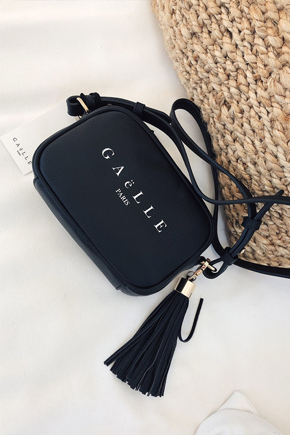 Gaelle - Small shoulder bag with logo