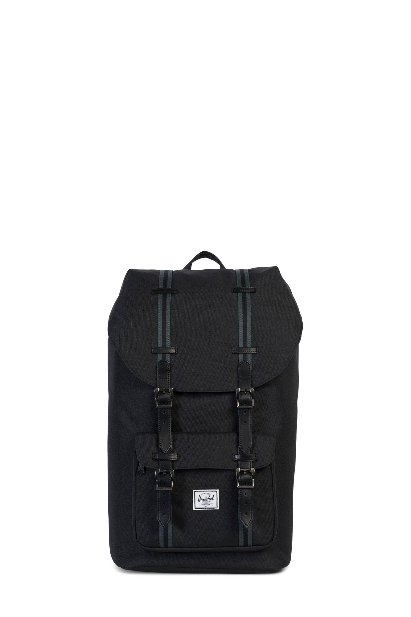 Herschel - Little America Black Offset Backpack