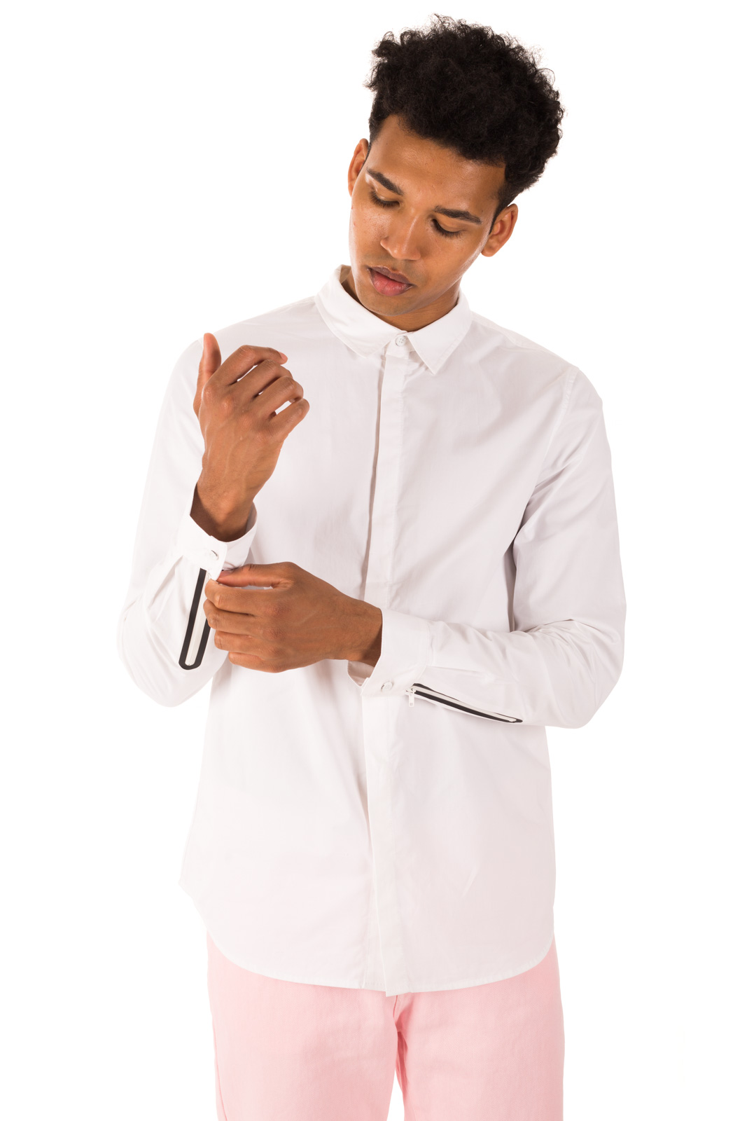 Dr. Denim - Ossian shirt with thermosalded sleeves