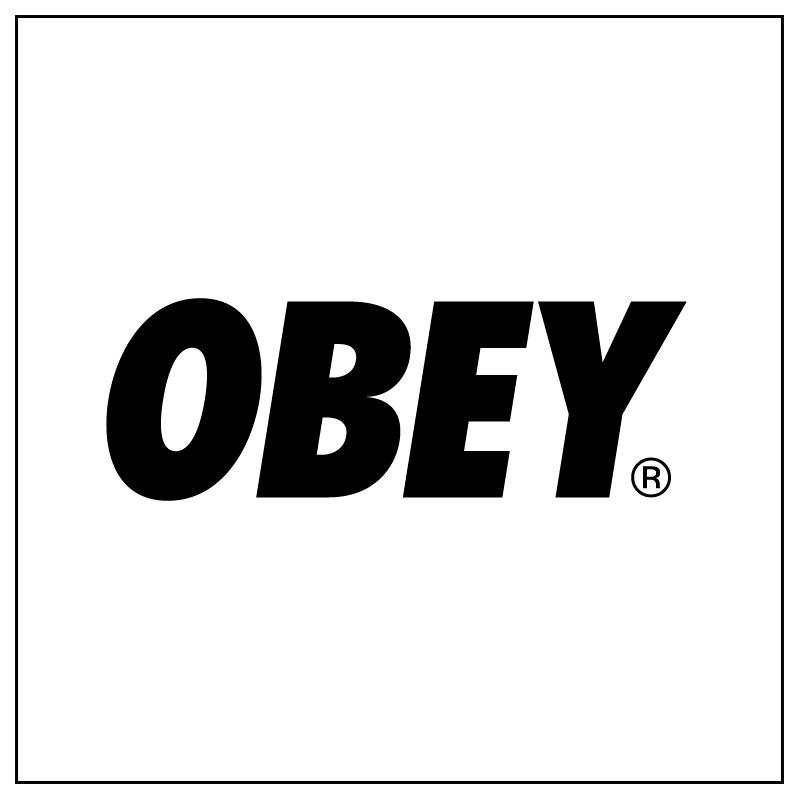 Logo e link alla marca Obey