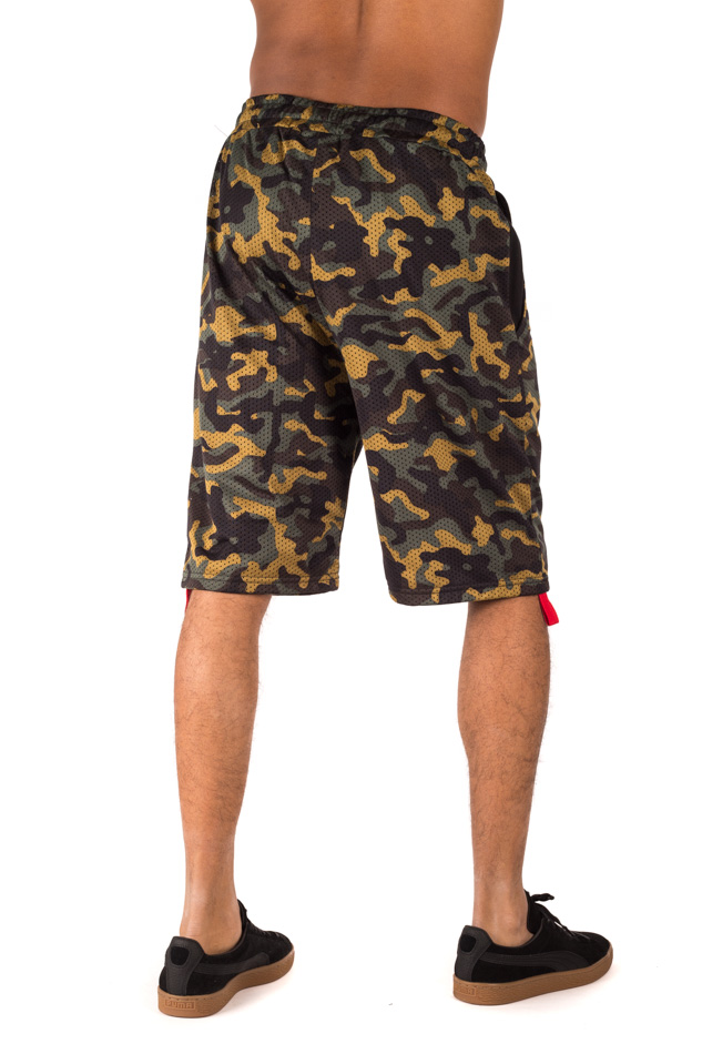 Pyrex - Basketball Shorts Camo