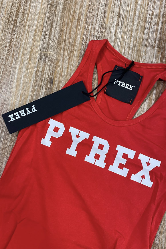 Pyrex - Red body with logo