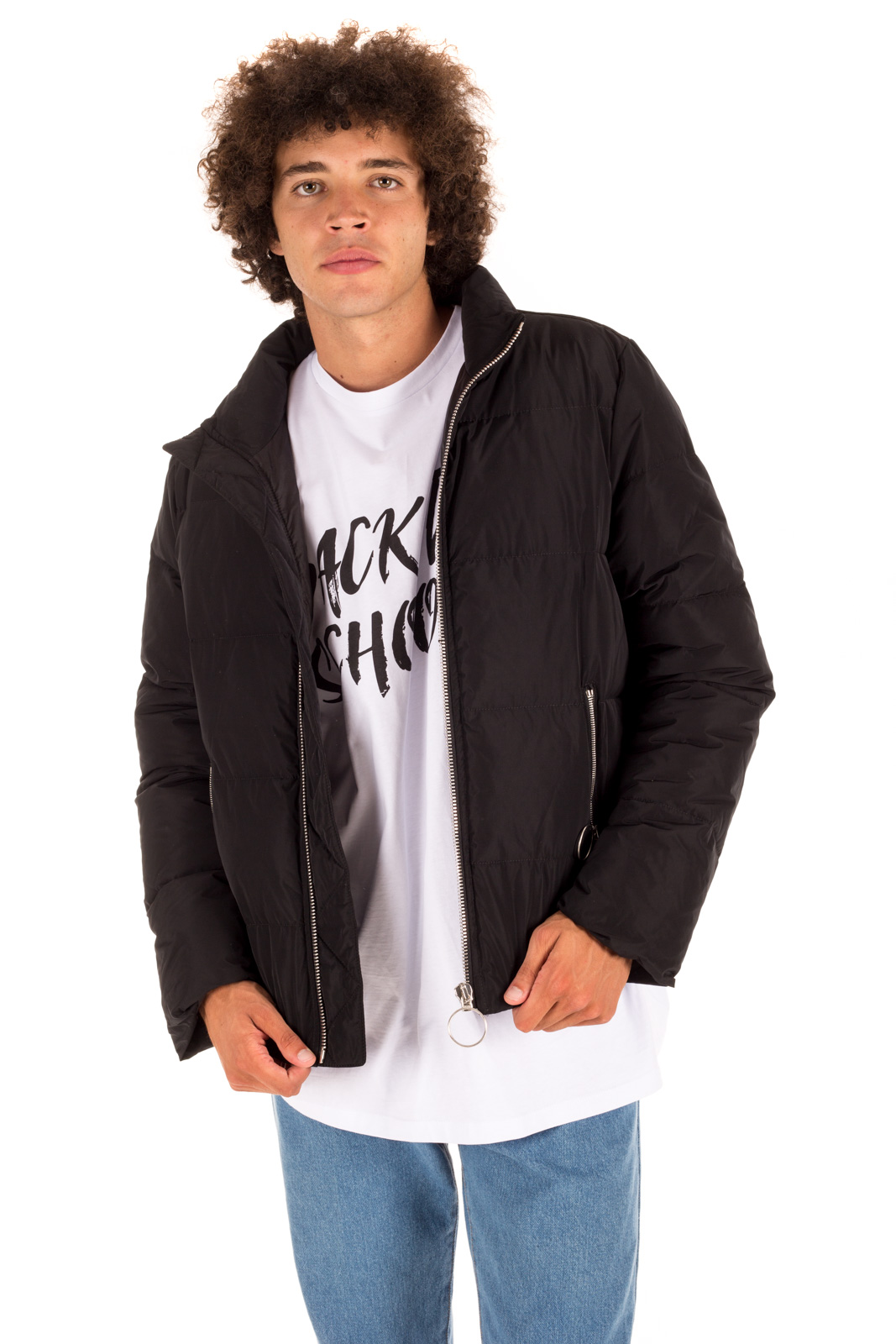 Paura - Leon Quilted Jacket