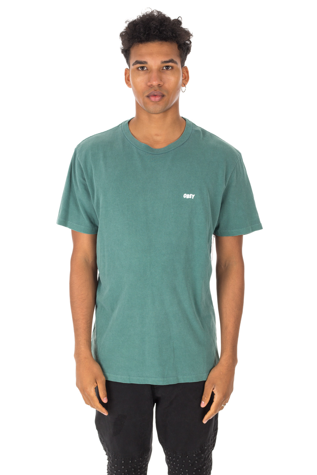 Obey - T-Shirt Jumble Lo-Fi Green