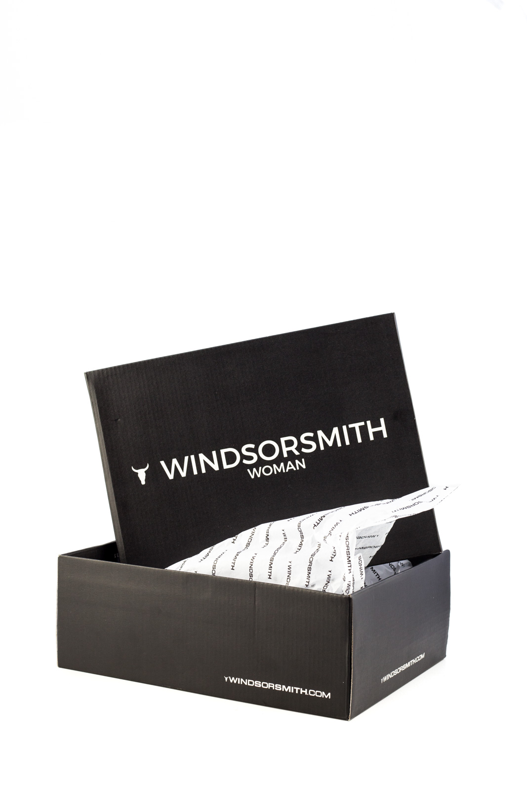 Windsor Smith - Yuki Black Boots Knit