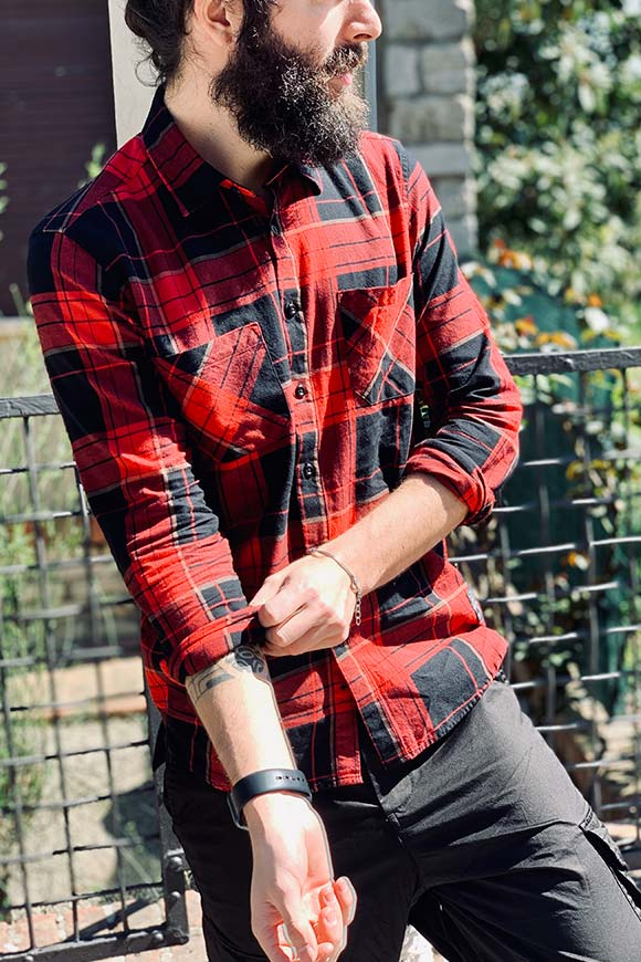 Gianni Lupo - Red and black checkered shirt outcome