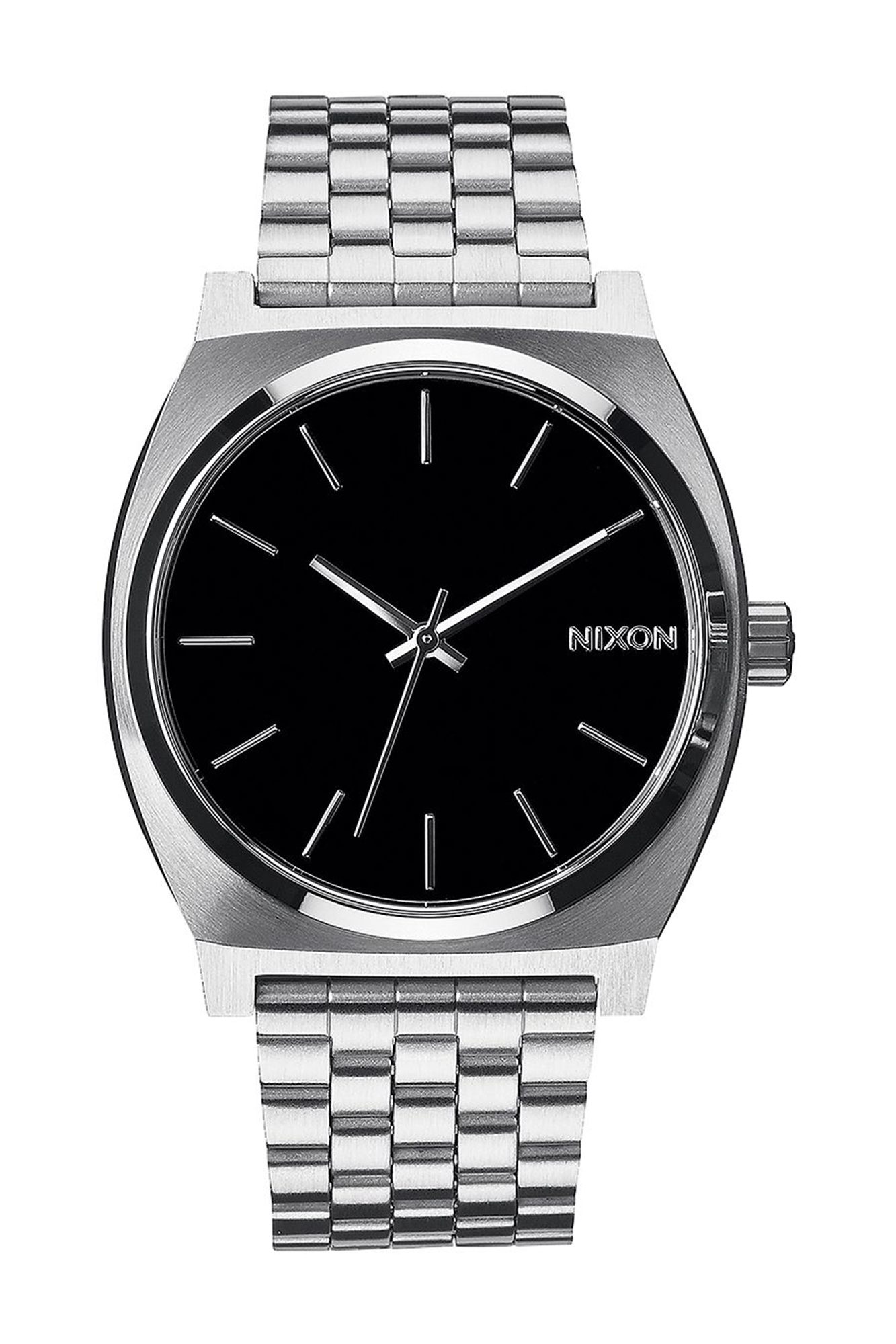 Nixon - Time Teller silver and black Watch