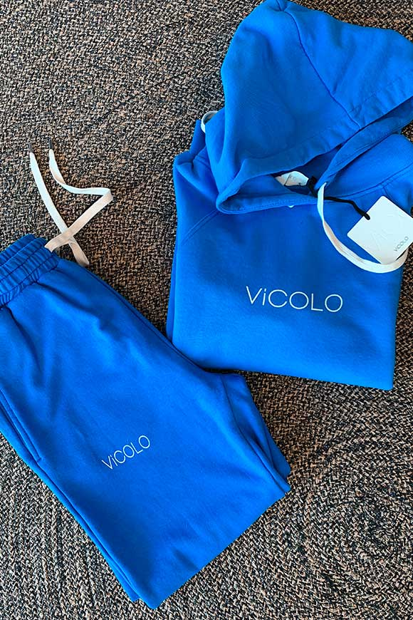 Vicolo - Royal track pants with logo