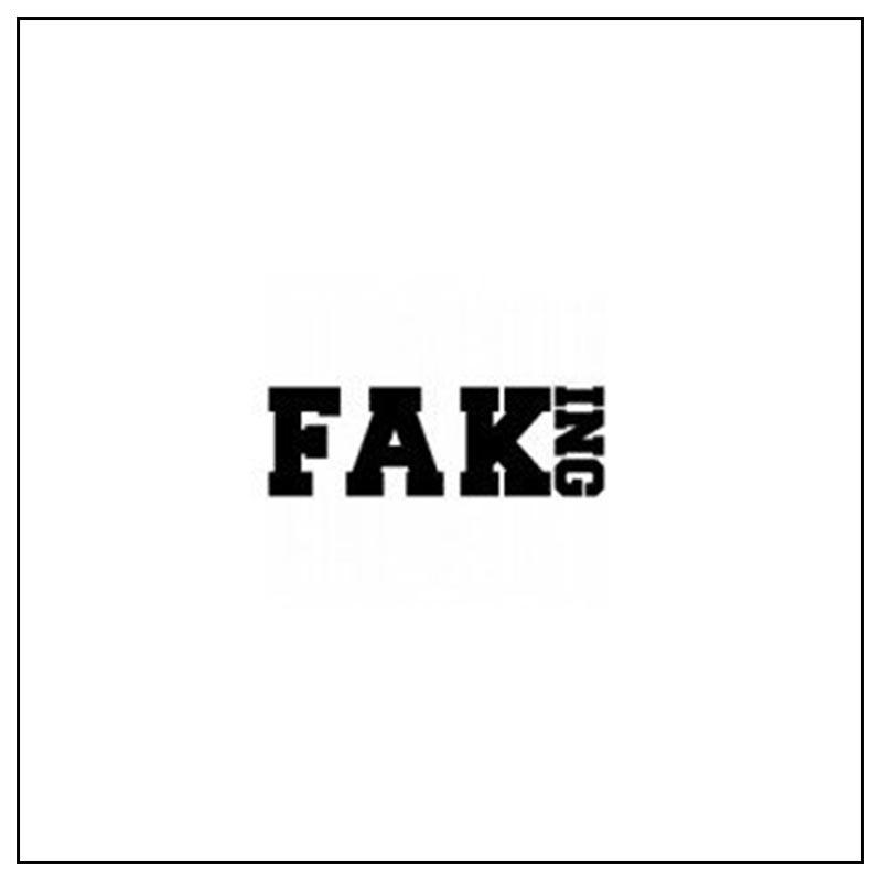 Logo e link alla marca Faking