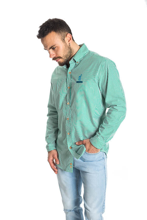 Pas De Mer - Camicia a righe Fountain