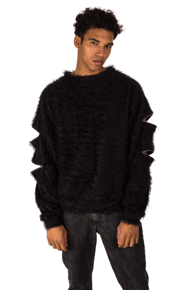 Avant - Sweatshirt with zip on your arms