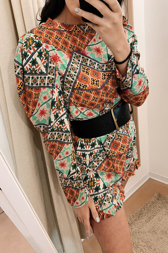 Glamorous - Ethnic jumpsuit with wide straps