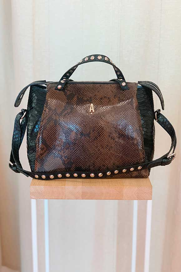 Aniye By - Crocodile Tata taupe bag