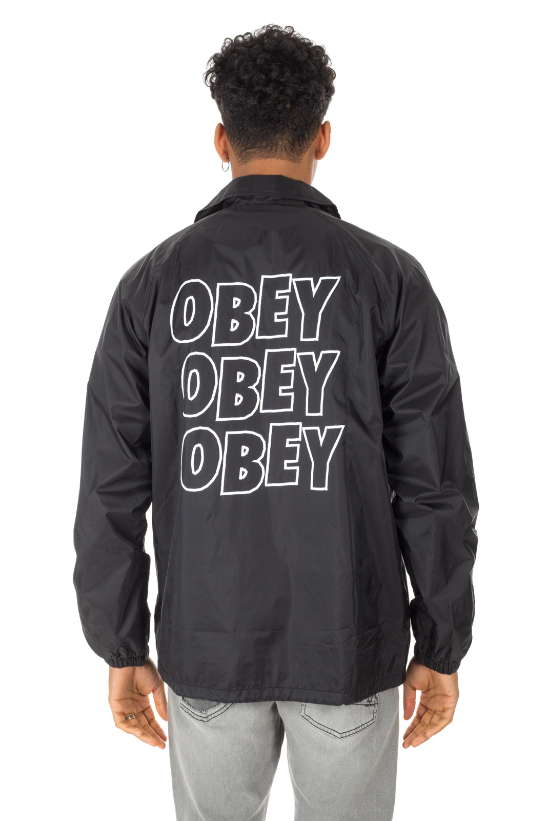 Obey - Jumble Black Jacket