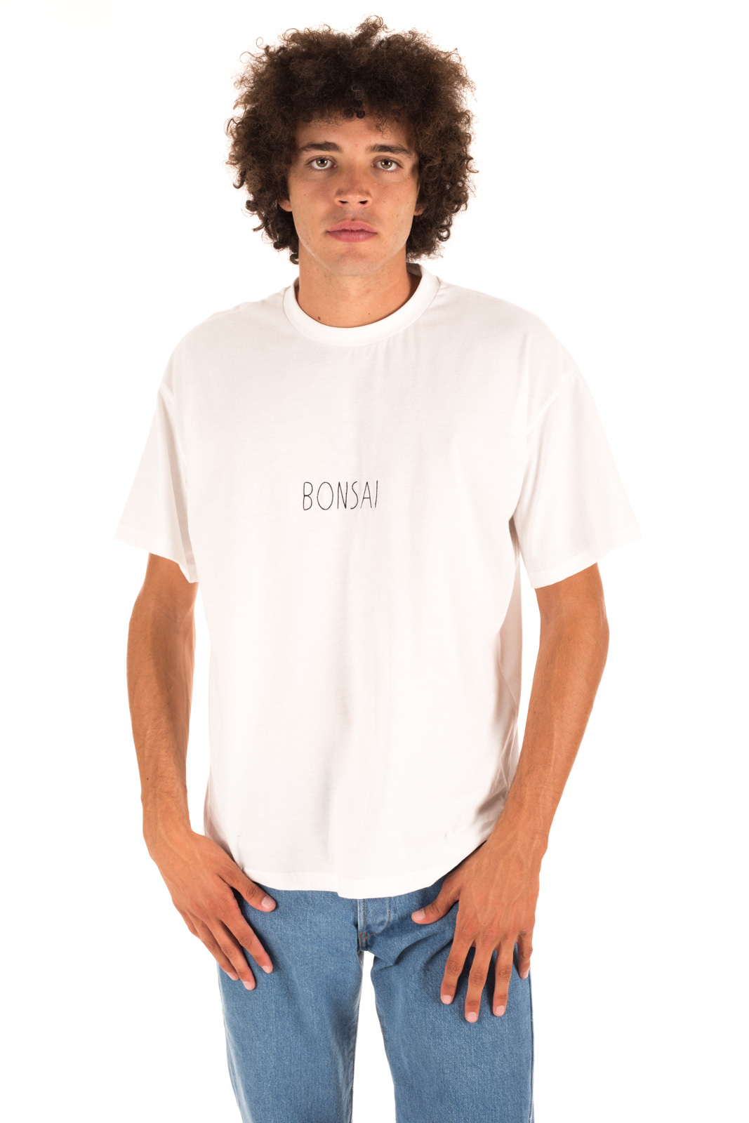 Bonsai - T shirt Logo White