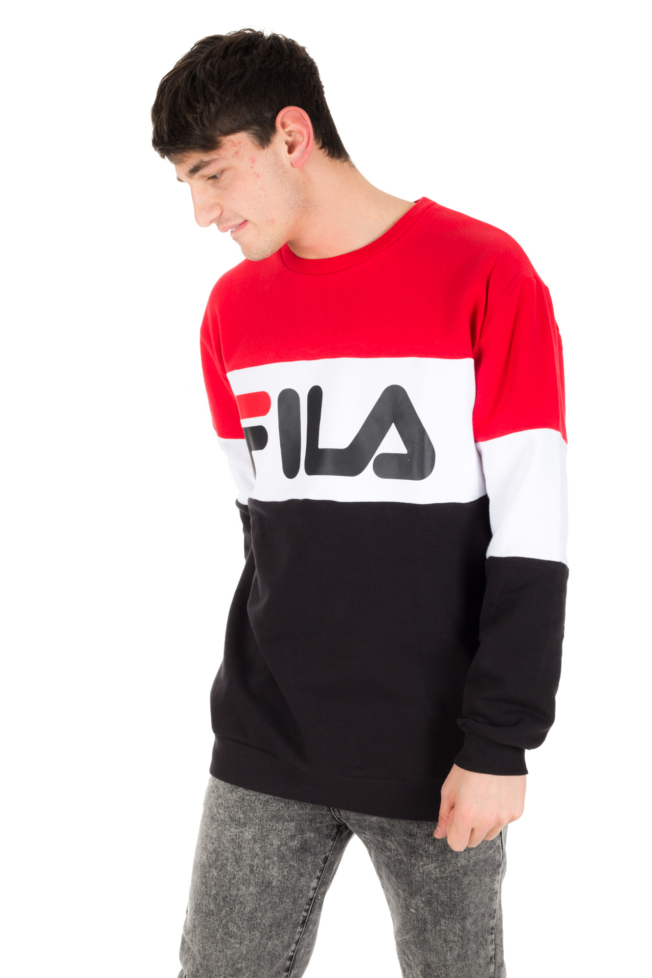 Fila - Unisex Sweatshirt with three colour