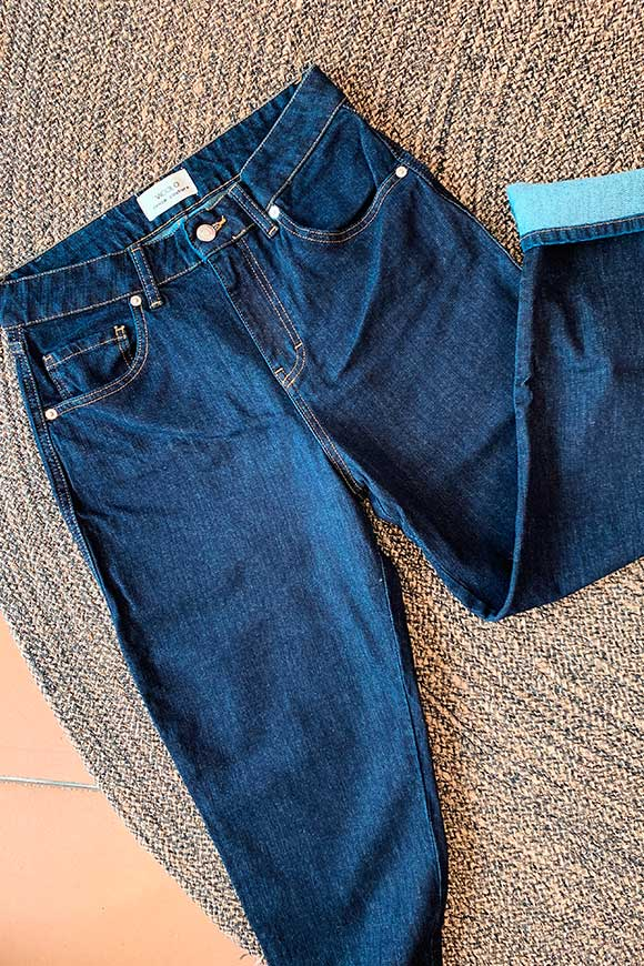 Sienna dark blue jeans