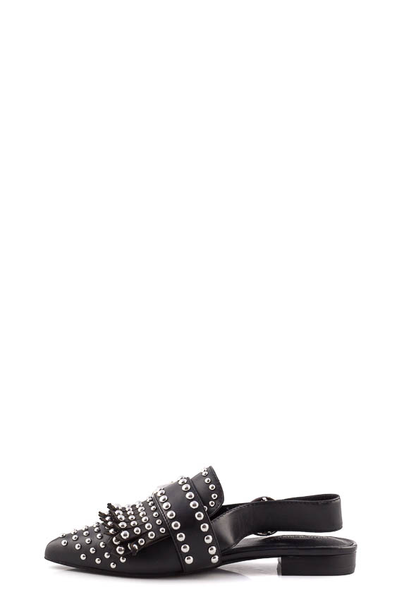 Jeffrey Campbell - Lea Neri sandals with studs