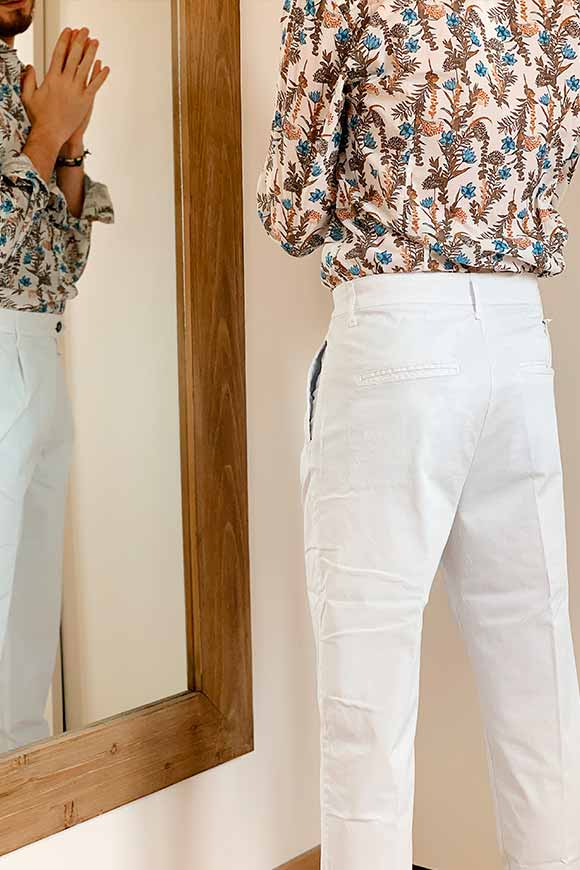 Gianni Lupo - White cigarette chinos