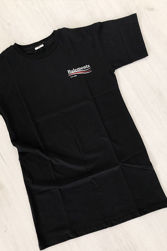 Balements - Balenciaga unisex long black t shirt