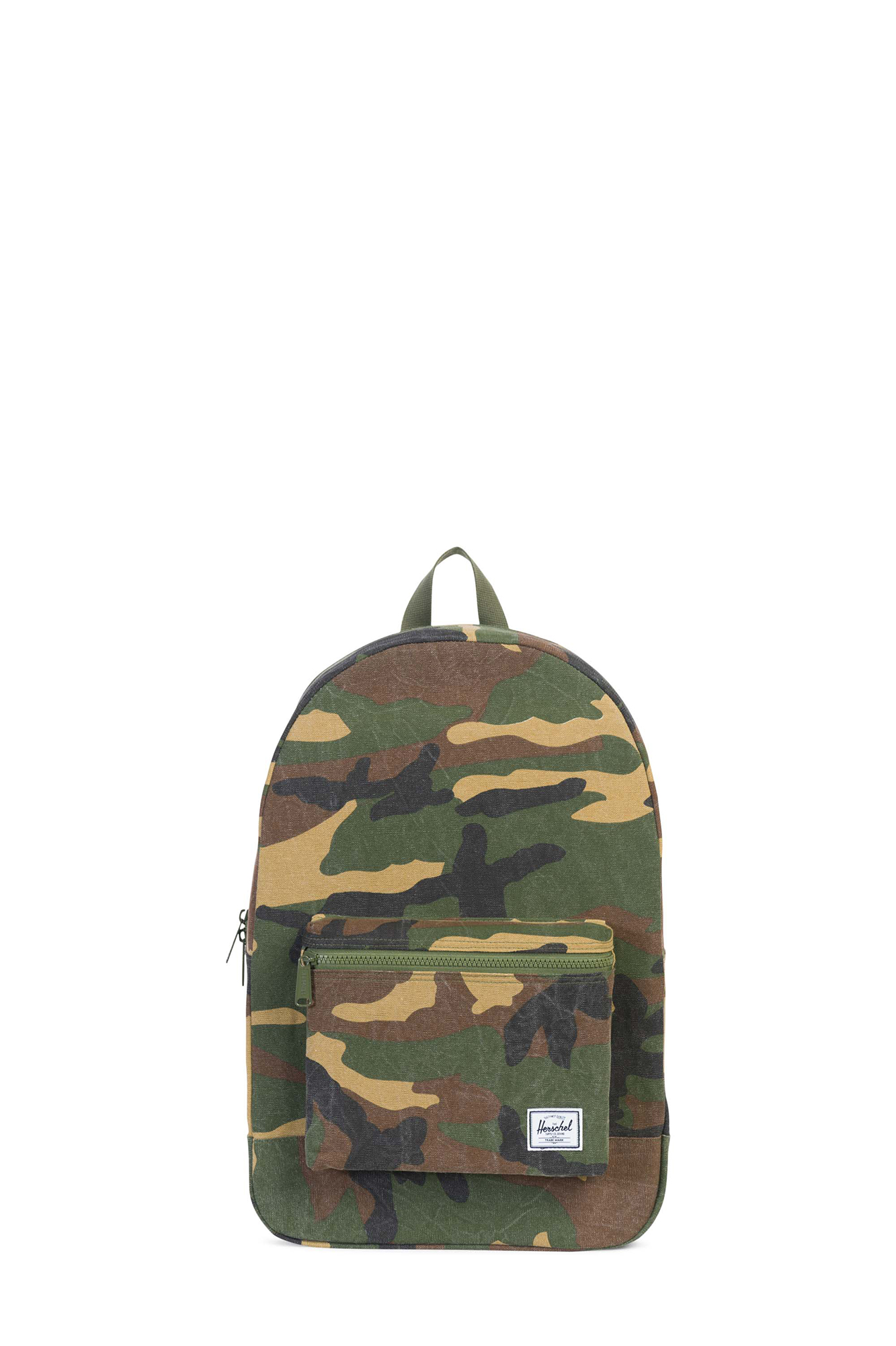 Herschel - Cotton Canvas Daypack Camo Backpack
