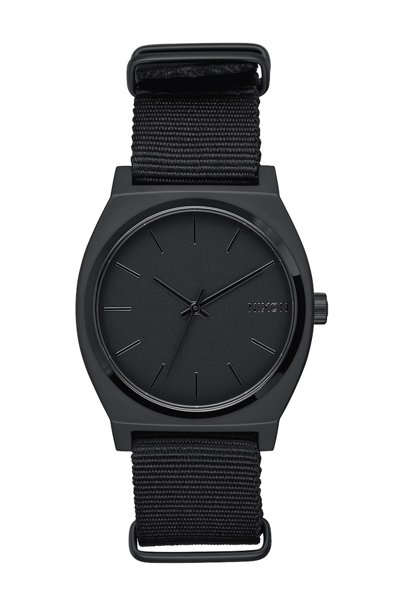 Nixon - Time Teller black Canvas Watch