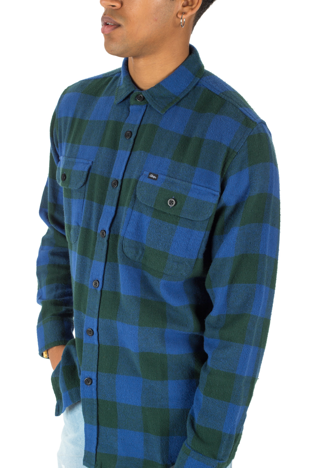 Obey - Trent check shirt