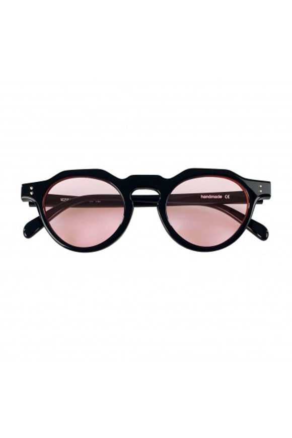 Leziff - California Pink and Black Glasses