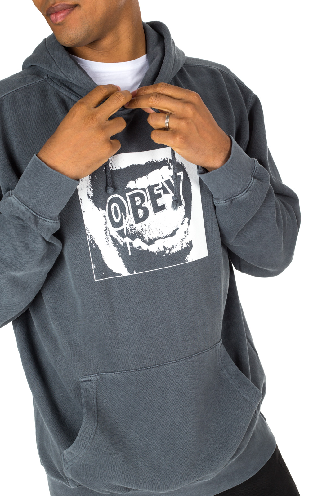 Obey - Felpa Screamer Grigia