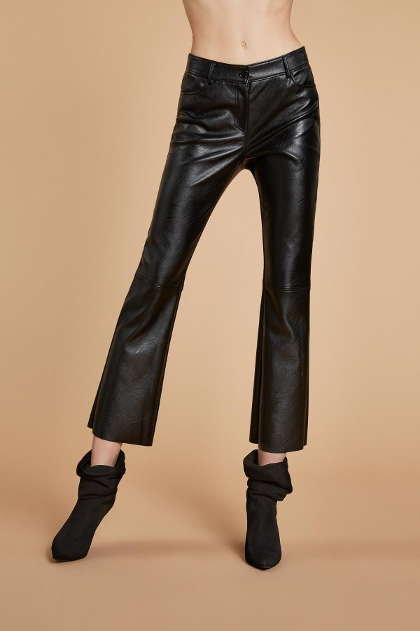 Aniye By - Eros trousers in black faux leather